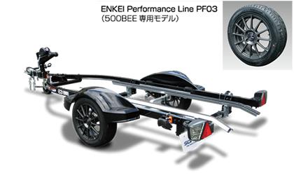 ZERO 500BEEのアルミホイールが変わります。
